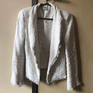Zara tweed Fringe jacket